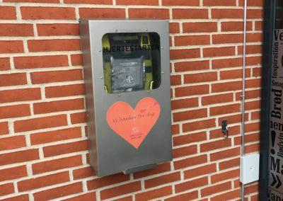 Hjertestarter hos Sparekassen Djursland